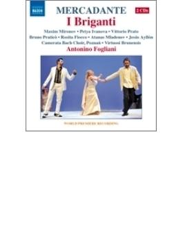 歌劇『群盗』全曲 フォリアーニ&ヴィルトゥオージ・ブルネンシス、プラティコ、ミロノフ、他(2012 ステレオ)(2CD)