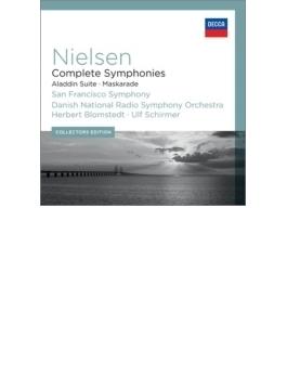 交響曲全集(ブロムシュテット&サンフランシスコ響)、『仮面舞踏会』全曲(シルマー&デンマーク国立放送響)(6CD)