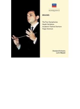 交響曲全集 マゼール&クリーヴランド管弦楽団(3CD)