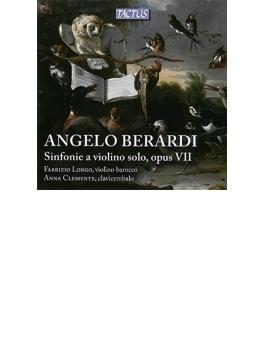 ヴァイオリンのためのシンフォニア集 ファブリツィオ・ロンゴ、アンナ・クレメンテ