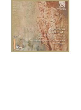 プロメテウス~管弦楽伴奏歌曲集 バンゼ、ヘンシェル、ナガノ&ベルリン・ドイツ響