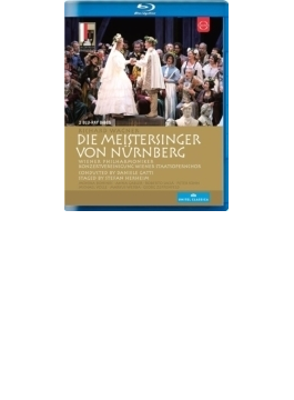 『ニュルンベルクのマイスタージンガー』全曲 ヘアハイム演出、ガッティ&ウィーン・フィル、フォレ、サッカ、他(2013 ステレオ)(2BD)(日本語字幕付)