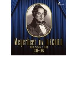 マイアベーア・オン・レコード第2集 1899~1925(3CD)