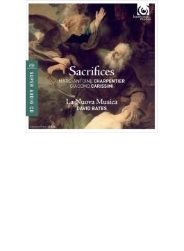 カリッシミ:エフタの物語、シャルパンティエ:アブラハムの生贄、聖ペテロの否認、他 ベイツ&ラ・ヌオヴァ・ムジカ