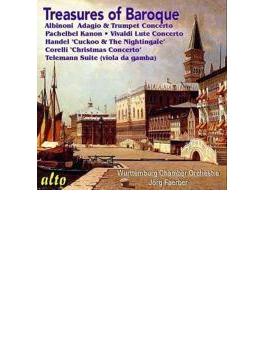 Treasures Of Baroque: Faerber / Wurttemburg Co Rilling(Org) Etc