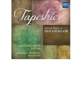 『タペストリー~ダン・ロックレアの合唱音楽』 ベルカント・カンパニー、ザ・コーラル・アート・ソサエティ(2CD)