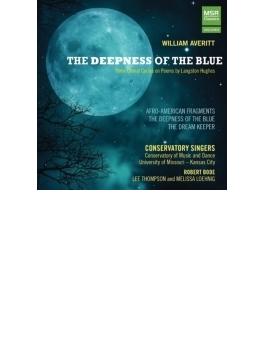 合唱と4手連弾ピアノのための『青の深み』『アフロ・アメリカン断章』『ドリーム・キーパー』 ミズーリ・カンザス・シティ音楽院合唱団