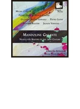 18世紀ナポリのマンドリンのための作品集 クリスティアン・シュナイダー