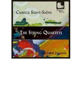 弦楽四重奏曲第1番、第2番 ヨアヒム四重奏団
