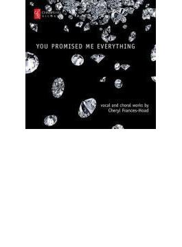 You Promised Me Everything-vocal & Choral Works: J.johnston(Ms) Middleton Hogarth(P)