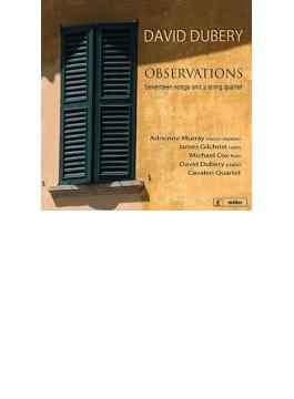 Observations, Cuarteto Iberico: Gilchrist(T) Adrienne Murray(Ms) Dubery(P) Cavaleri Q