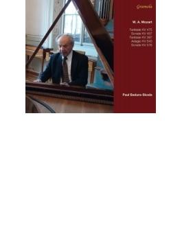 ピアノ・ソナタ第14番、第17番、2つの幻想曲、アダージョ バドゥラ=スコダ(2013)