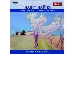 ピアノ三重奏曲第1番、第2番 アクィナス・ピアノ三重奏団
