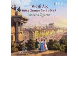 弦楽四重奏曲第8番、第9番 パノハ四重奏団(2014)