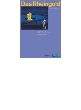 『ラインの黄金』全曲 ネミロヴァ演出、ヴァイグレ&フランクフルト歌劇場、ステンスヴォルト、ストレイト、他(2012 ステレオ)(2DVD)