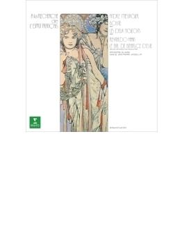メサジェ:『2羽のはと』抜粋、『イゾリーヌ』抜粋、アーン:エステ家のベアトリーチェの舞踏会 ジャキャ&パリ管
