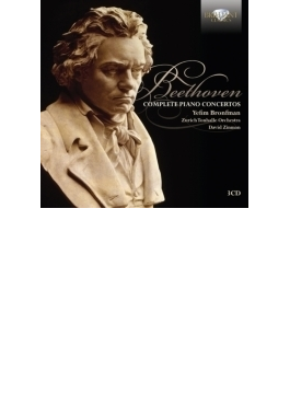 ピアノ協奏曲全集、合唱幻想曲、『静かな海と楽しい航海』 ブロンフマン、ジンマン&チューリッヒ・トーンハレ管(3CD)