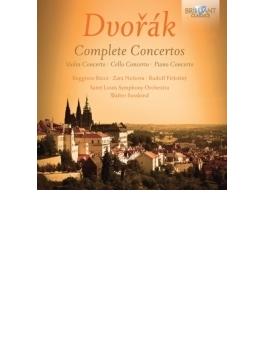 協奏曲全集 フィルクシュニー、リッチ、ネルソヴァ、ジュスキント&セントルイス響(2CD)