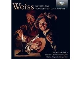 フラウト・トラヴェルソとリュートのためのソナタ集 デュオ・インヴェンティオ