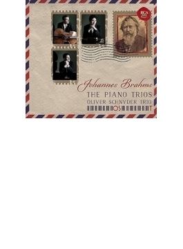 ピアノ三重奏曲全集~第1番初稿版付 オリヴァー・シュニーダー・トリオ(2CD)