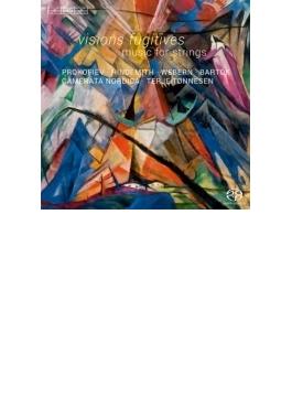 プロコフィエフ:束の間の幻影(バルシャイ編曲弦楽合奏版全曲)、バルトーク:ディヴェルティメント、他 トンネセン&カメラータ・ノルディカ
