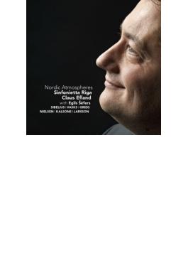 シベリウス:ロマンス、ヴァスクス:悲しみの音楽、グリーク:2つの悲しき旋律、ニールセン:弦楽オーケストラのための組曲、他 エフランド&シンフォニエッタ・リガ