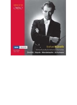 クーベリック&ケルン放送交響楽団ライヴ1960-63~メンデルスゾーン:宗教改革、ハイドン:時計、他 フィルクシュニー、シュタルケル、アラウ(3CD)