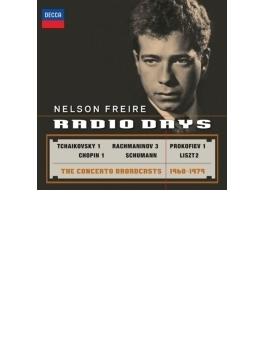 ネルソン・フレイレ/協奏曲ライヴ録音集1968~1979(ステレオ)(2CD)