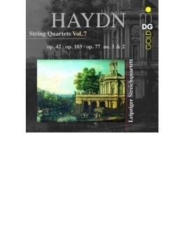 弦楽四重奏曲第43番、第81番、第82番、第83番 ライプツィヒ弦楽四重奏団