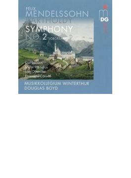 交響曲第2番『讃歌』 ボイド&ヴィンタートゥール・ムジークコレギウム、L.ラーション、ハルテリウス、他