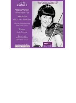 ヴァイオリン協奏曲、他 グィラ・ブスターボ、ヌッシオ&スイス・イタリア語放送管、他(1963、1959)