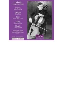 グリーグ:チェロ・ソナタ、ドヴォルザーク:ロンド、ヴァレンティーニ:組曲、他 ルートヴィヒ・ヘルシャー、ライトナー、ラウハイゼン(1943、44)