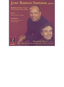 Piano Concerto: J.r.santana(P) K.klein / Rpo +saint-saens: Concerto, 2,