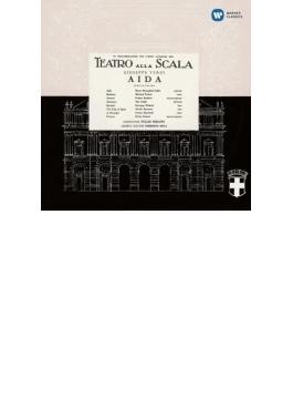 『アイーダ』全曲 セラフィン&スカラ座、カラス、タッカー、ゴッビ、他(1955 モノラル)(2CD)