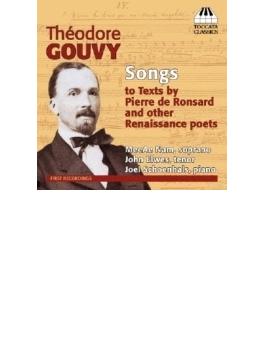 Melodies Pierre De Ronsard & Renaissance Poets: Meeae Nam(S) Elwes(T) Schoenhals(P)
