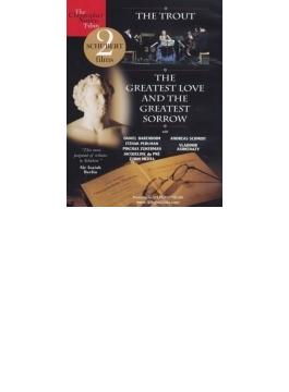 ピアノ五重奏曲『ます』 デュ・プレ、バレンボイム、パールマン、ズッカーマン、メータ+ドキュメンタリー『シューベルト:偉大なる愛と偉大なる哀しみ』(日本語字幕付)