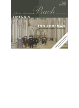 Sinfonias From Cantatas: Koopman / Amsterdam Baroque O