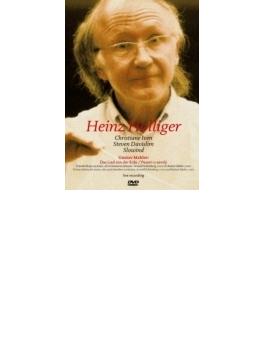大地の歌(室内楽版) ホリガー&スロウィンド、イヴェン、デヴィスリム(PAL-DVD)