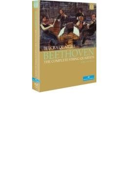 弦楽四重奏曲全集 ベルチャ四重奏団(2012年ウィーン・ライヴ)(4BD)
