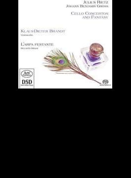 Cello Concerto, Etc: K-d.brandt(Vc) Minasi / L'arpa Festante +j.b.gross: Concerto (Hyb)