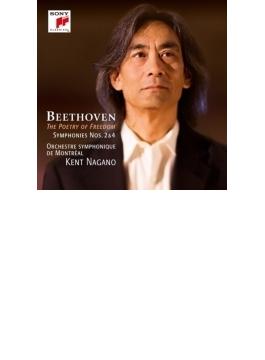交響曲第4番、第2番 ケント・ナガノ&モントリオール交響楽団