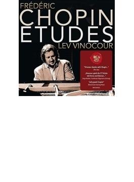 練習曲集Op.10,25、3つの新練習曲 レフ・ヴィノクール
