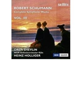 交響曲第4番(改訂版)、チェロ協奏曲 ホリガー&ケルンWDR響、シェヴリン