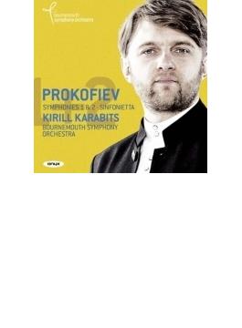 交響曲第1番『古典交響曲』、第2番、シンフォニエッタ、交響的スケッチ『秋』 カラビツ&ボーンマス響
