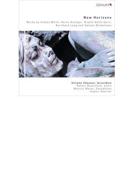 New Horizons-new Music For Accordion: Chassot(Accd) M.weiss (Sax) Rosenfeld(Vc) Vogler Q