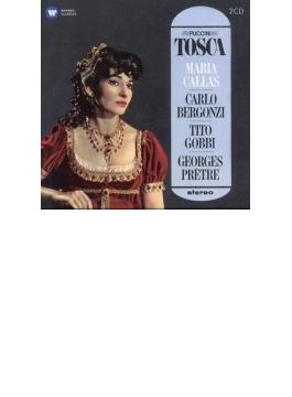『トスカ』全曲 プレートル&パリ音楽院管、カラス、ベルゴンツィ、ゴッビ、他(1964-65 ステレオ)(2CD)