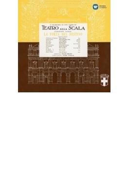 『運命の力』全曲 セラフィン&スカラ座、カラス、タッカー、他(1954 モノラル)(3CD)