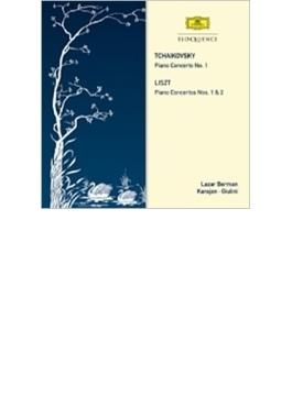 チャイコフスキー:ピアノ協奏曲第1番、リスト:ピアノ協奏曲第1番、第2番 ベルマン、カラヤン&ベルリン・フィル、ジュリーニ&ウィーン響