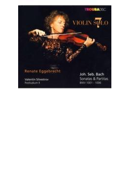 Sonatas & Partitas For Solo Violin: Eggebrecht +silvestrov: Postludium, 2,