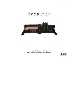 Keypunch-keyboard Music For Solo & 4 Hands: J.mcdonald R.vigil D.claman